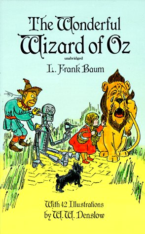 Wonderful Wizard of Oz   1996 (Unabridged) 9780486291161 Front Cover