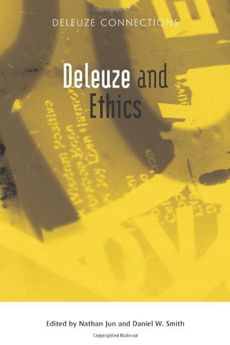 Deleuze and Ethics   2011 9780748641161 Front Cover