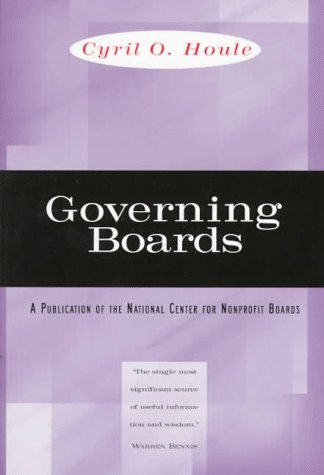 Governing Boards Their Nature and Nurture  1997 edition cover
