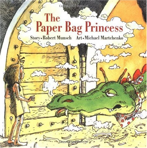 Paper Bag Princess  78th 1980 9780920236161 Front Cover