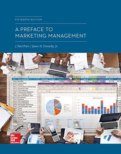 Loose Leaf for a Preface to Marketing Management  15th 9781260300161 Front Cover