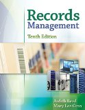 Records Management:   2015 9781305119161 Front Cover