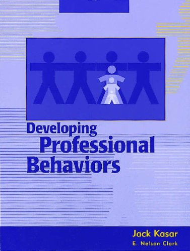 Developing Professional Behaviors  N/A edition cover