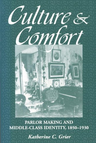 Culture and Comfort Parlor Making and Middle-Class Identity, 1850-1930  1997 edition cover