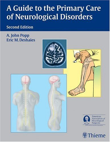 Guide to the Primary Care of Neurological Disorders  2nd 2008 edition cover