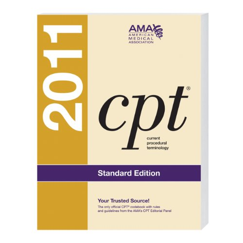 CPT, Standard Edition   2011 edition cover