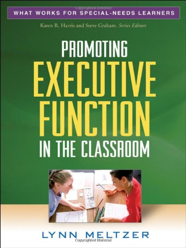 Promoting Executive Function in the Classroom   2010 edition cover