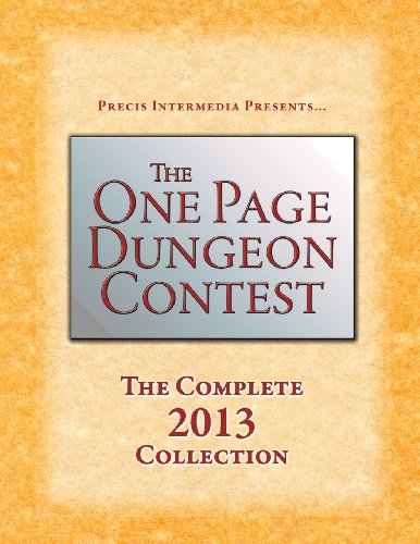 One Page Dungeon Contest 2013   2013 9781938270161 Front Cover