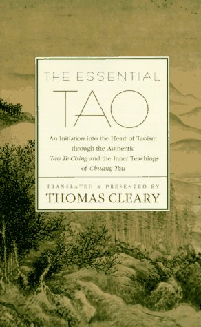 Essential Tao  Revised edition cover