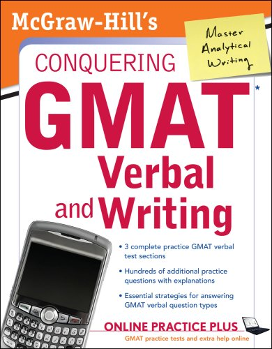 Conquering GMAT Verbal and Writing   2008 9780071508162 Front Cover
