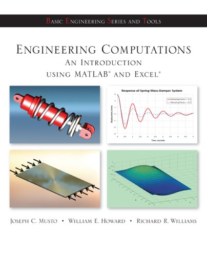 Engineering Computation An Introduction Using MATLAB and Excel  2010 edition cover