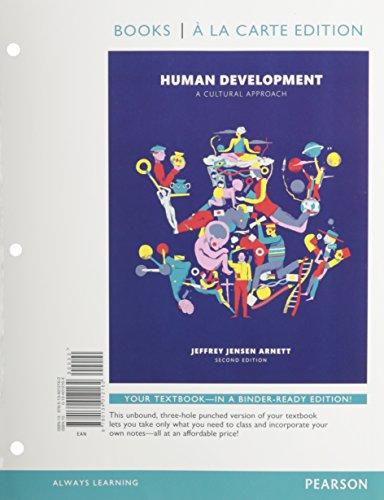 Human Development: A Cultural Approach, Books a La Carte Edition  2015 edition cover