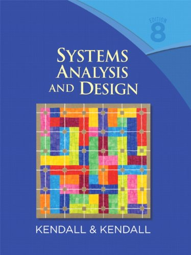 Systems Analysis and Design  8th 2011 edition cover