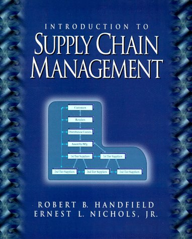 Introduction to Supply Chain Management  1st 1999 edition cover