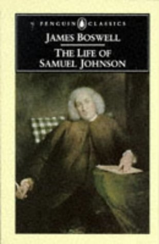 Life of Samuel Johnson   2003 (Abridged) 9780140431162 Front Cover