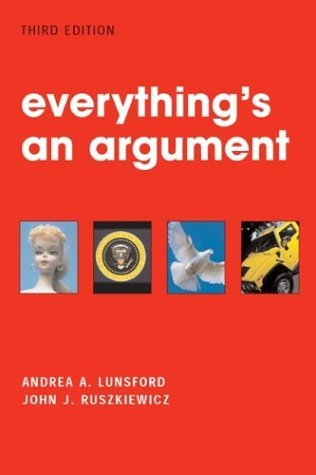 Everything's an Argument 3rd 2004 edition cover