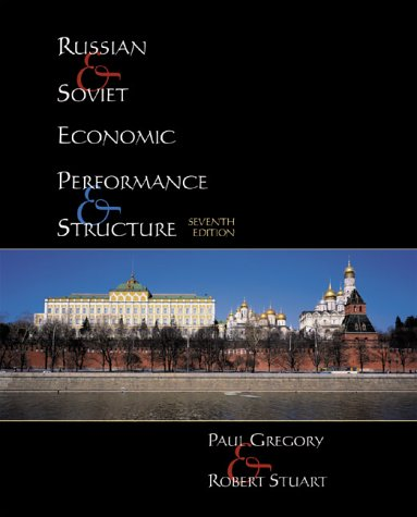Russian and Soviet Economic Performance and Structure  7th 2001 edition cover