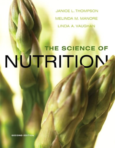 Science of Nutrition  2nd 2011 edition cover
