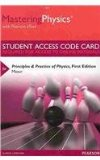 MasteringPhysics with Pearson EText -- Standalone Access Card -- for Principles and Practice of Physics   2015 edition cover
