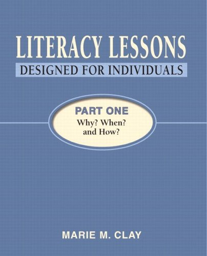 Literacy Lessons - Designed for Individuals Why? When? And How?  2005 edition cover