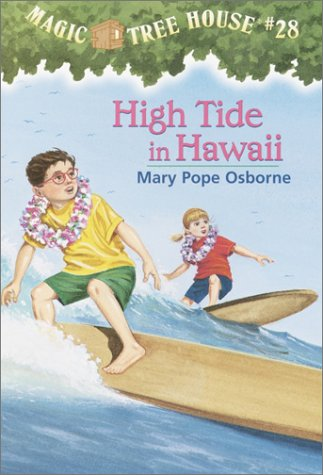 High Tide in Hawaii Magic Tree House  2003 9780375806162 Front Cover