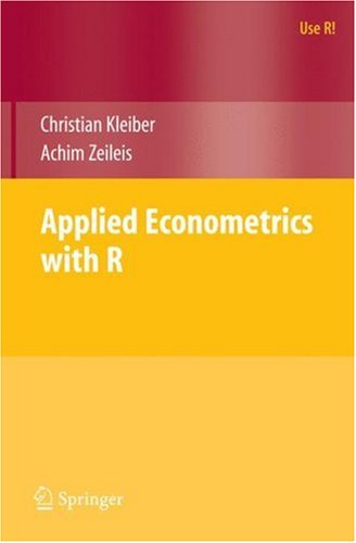 Applied Econometrics with R   2008 edition cover