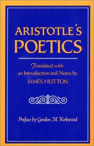 Aristotle's Poetics   1982 edition cover
