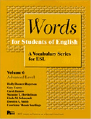 Words for Students of English  N/A edition cover