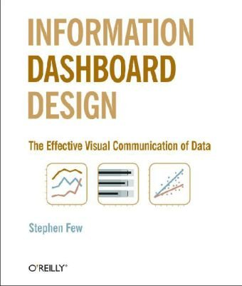 Information Dashboard Design The Effective Visual Communication of Data  2006 edition cover