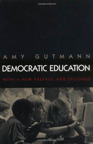 Democratic Education  2nd 1999 (Revised) edition cover
