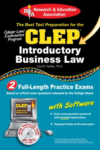 Introductory Business Law  N/A 9780738603162 Front Cover