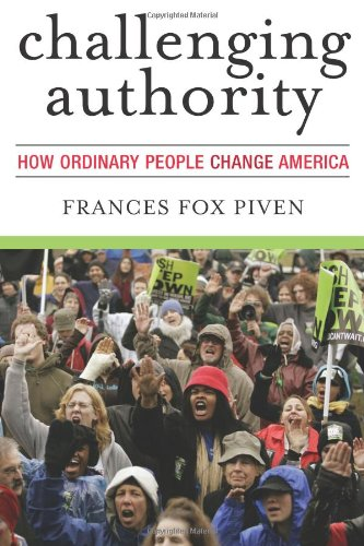 Challenging Authority How Ordinary People Change America  2006 edition cover