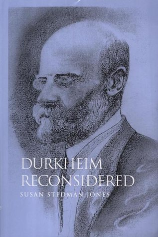 Durkheim Reconsidered   2001 9780745616162 Front Cover