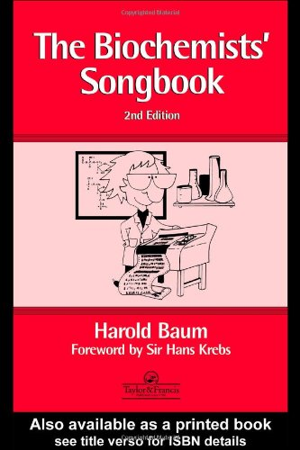 Biochemists' Song Book  2nd 1995 (Revised) 9780748404162 Front Cover