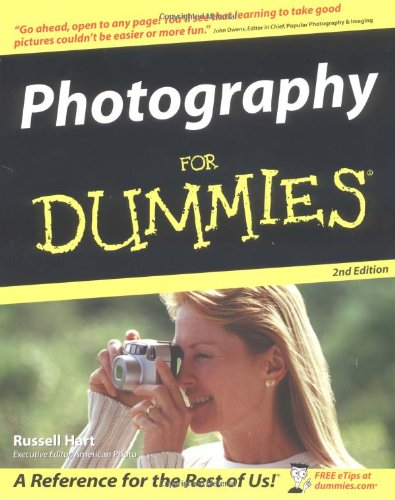 Photography for Dummies  2nd 2004 (Revised) edition cover