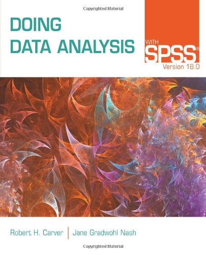 Doing Data Analysis with SPSS�  5th 2012 edition cover
