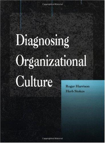 Diagnosing Organizational Culture Instrument   1992 edition cover