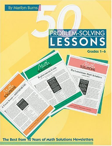 50 Problem-Solving Lessons The Best from 10 Years of Math Solutions Newsletters, Grades 1-6  1996 edition cover