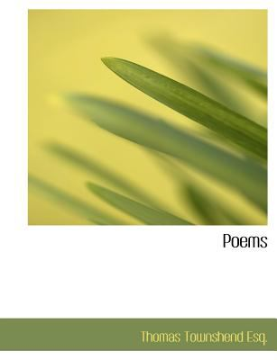Poems N/A 9781115355162 Front Cover