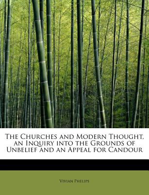 Churches and Modern Thought, an Inquiry into the Grounds of Unbelief and an Appeal for Candour N/A 9781116671162 Front Cover