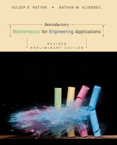 Introductory Mathematics for Engineering Applications  2nd 2013 (Revised) 9781118466162 Front Cover