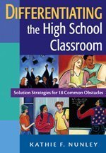 Differentiating the High School Classroom Solution Strategies for 18 Common Obstacles  2006 edition cover