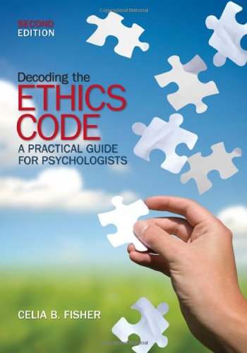 Decoding the Ethics Code A Practical Guide for Psychologists 2nd 2009 edition cover