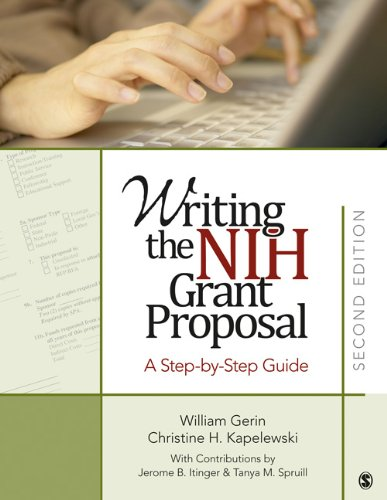 Writing the NIH Grant Proposal A Step-by-Step Guide 2nd 2011 edition cover