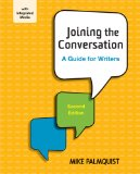 Joining the Conversation: A Guide for Writers  2014 edition cover