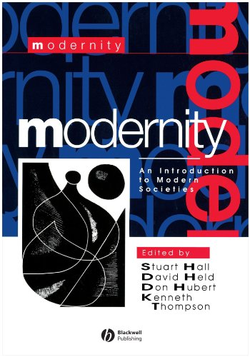 Modernity An Introduction to Modern Societies  1996 edition cover