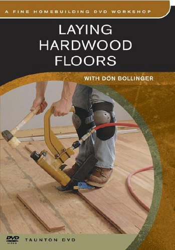 Laying Hardwood Floors:   2003 edition cover