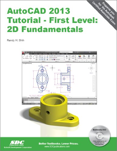 AutoCAD 2013 Tutorial - First Level 2D Fundamentals  2012 9781585037162 Front Cover