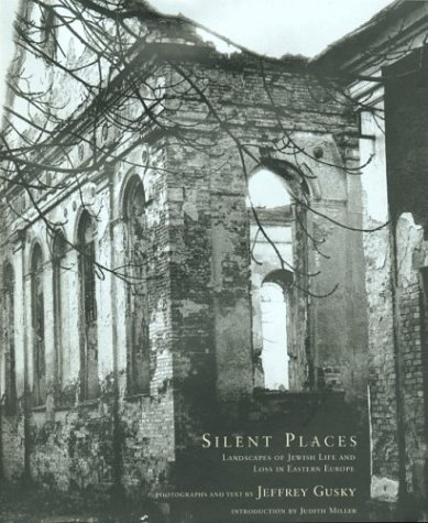 Silent Places Landscapes of Jewish Life and Loss in Eastern Europe  2003 9781585673162 Front Cover