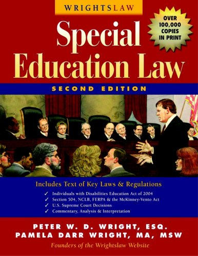 Wrightslaw; Special Education Law, 2nd Ed 2nd 2007 edition cover